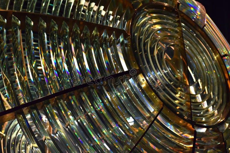 Leuchtturm-Licht stockbilder
