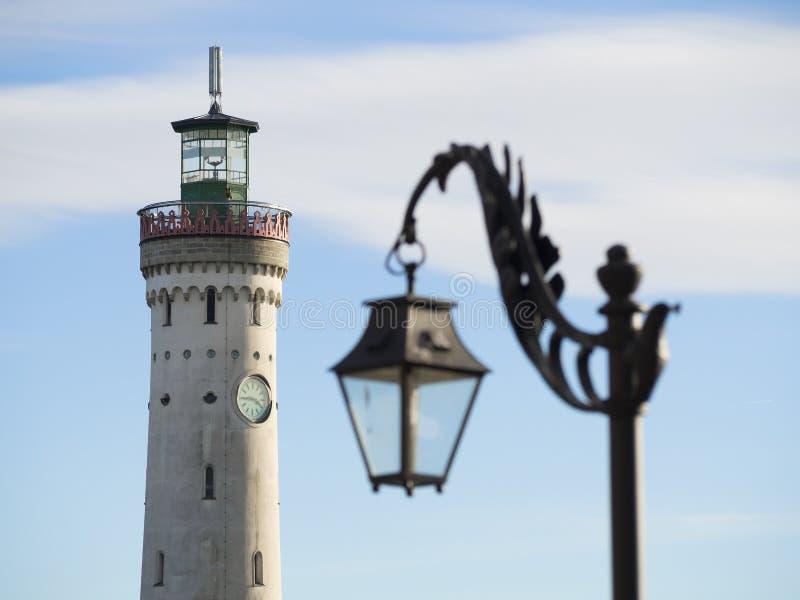 Leuchtturm Lindau stockfotografie