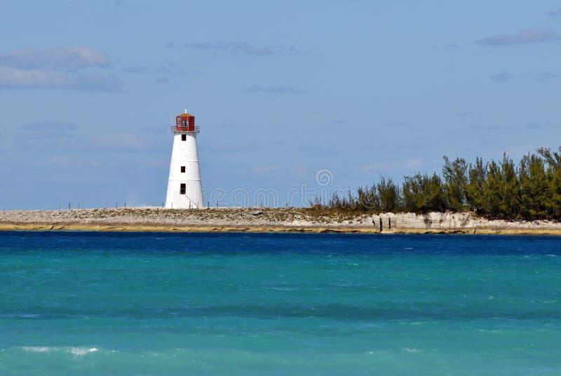 Leuchtturm Nassau-Bahamas stockfotografie