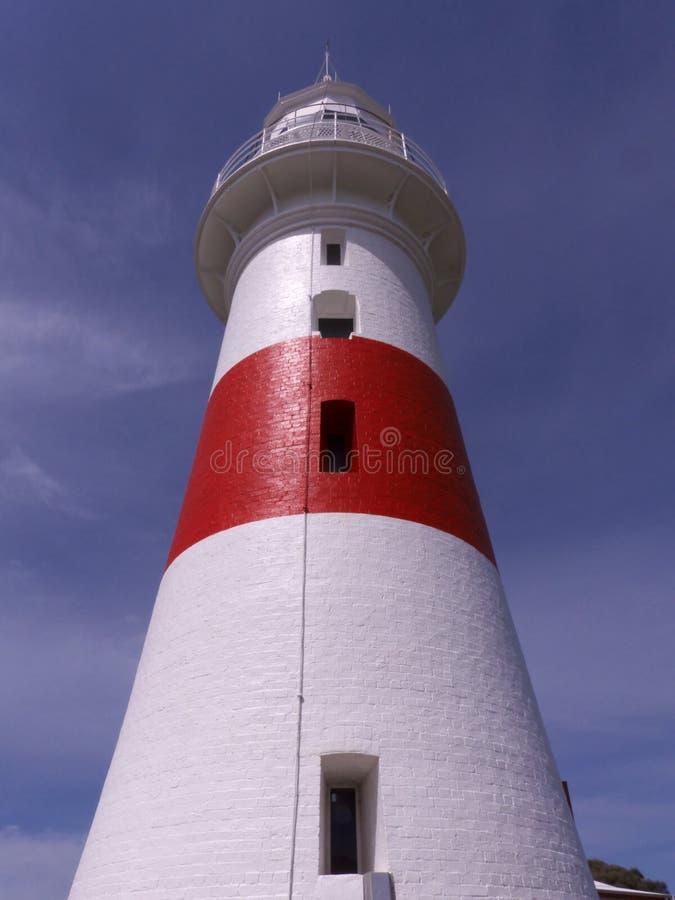 Leuchtturm am niedrigen Kopf, Tasmanien stockfotografie