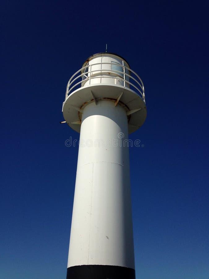 Leuchtturm Nieuwpoort stockfoto