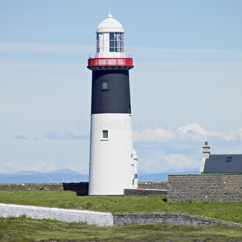 Leuchtturm, Nordirland stockfoto