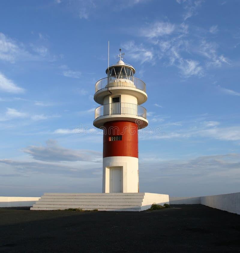 Leuchtturm, Nordspanien lizenzfreie stockbilder