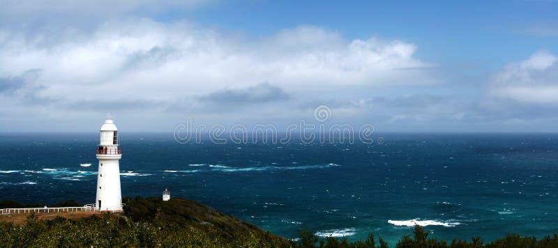 Leuchtturm-Panorama lizenzfreies stockfoto