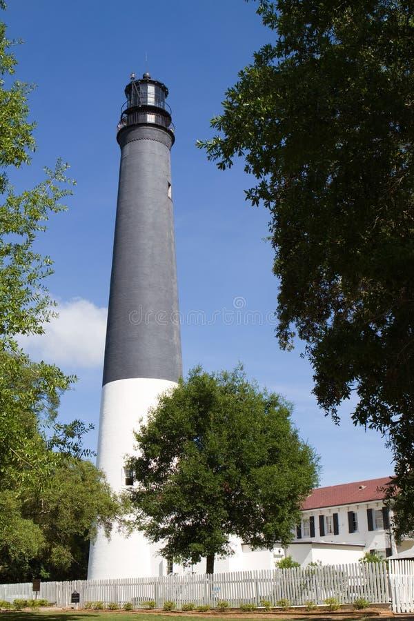Leuchtturm Pensacola stockfoto