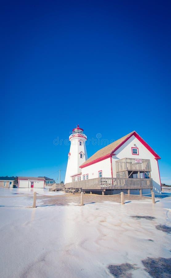 Leuchtturm in Prince-Edward-Insel lizenzfreie stockfotos