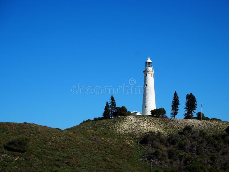 Leuchtturm in Rottnest-Insel stockfotos