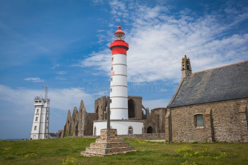 Leuchtturm-St. Mathieu lizenzfreies stockbild