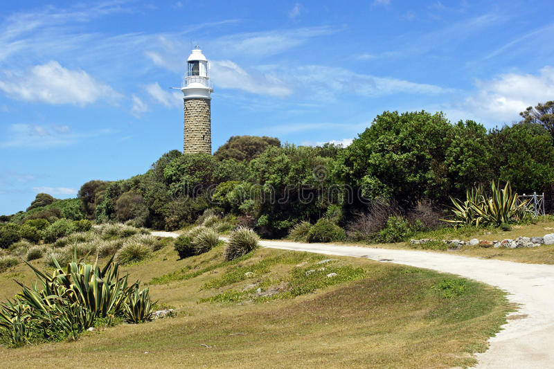 Leuchtturm, Tasmanien, Australien stockfotos
