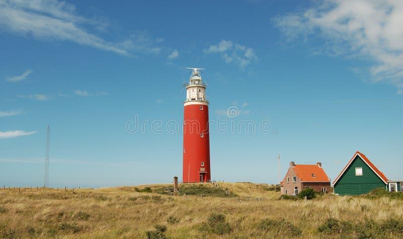 Leuchtturm Texel stockfoto