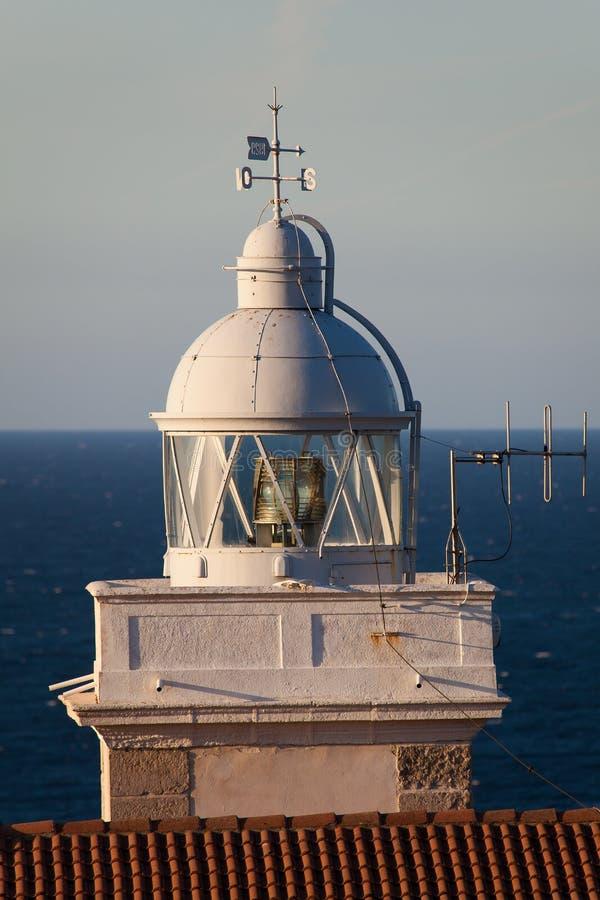 Leuchtturm von San Vicente de la Barquera stockfotografie