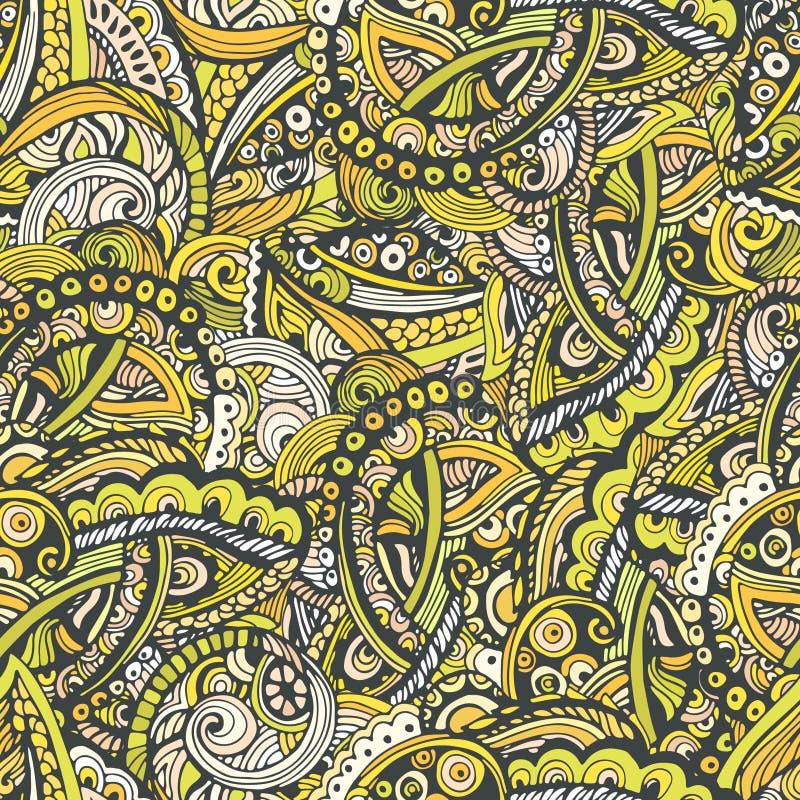 Leuk abstract naadloos patroon royalty-vrije illustratie