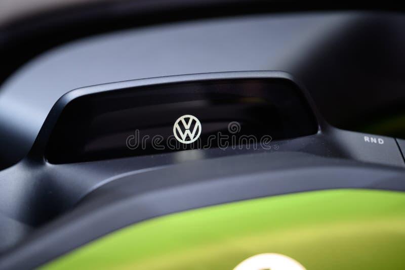 Leuk als insect: Volkswagen I D Concept met fouten royalty-vrije stock afbeeldingen