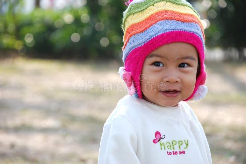 Leuk Aziatisch meisje royalty-vrije stock afbeeldingen