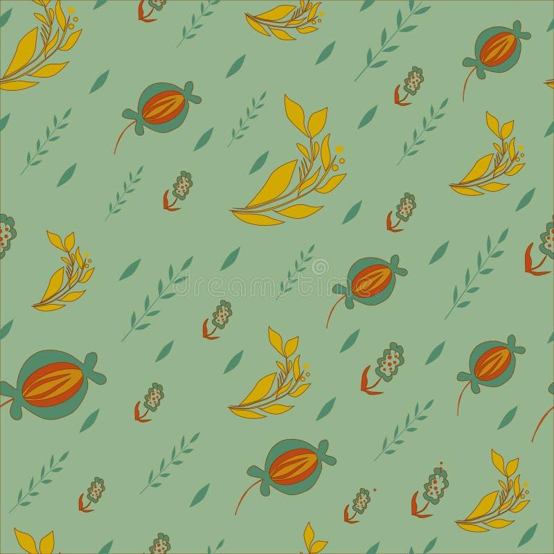 Download Leuk Bloemen Naadloos Behang Vector Illustratie - Illustratie bestaande uit illustratie, mod: 39112472