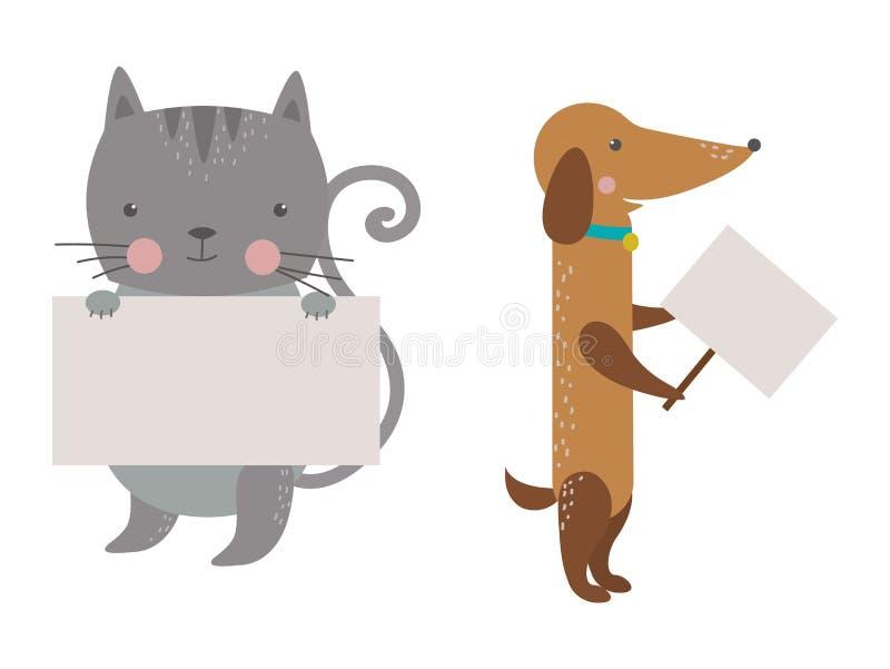 Leuk dieren vectorkarakter vector illustratie