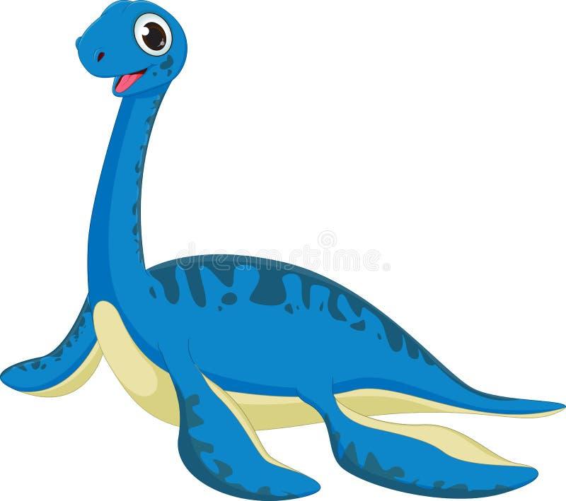 Leuk dinosaurusbeeldverhaal stock illustratie