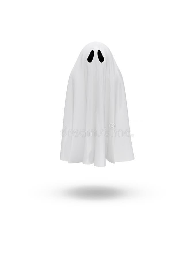 Leuk grappig spook stock illustratie