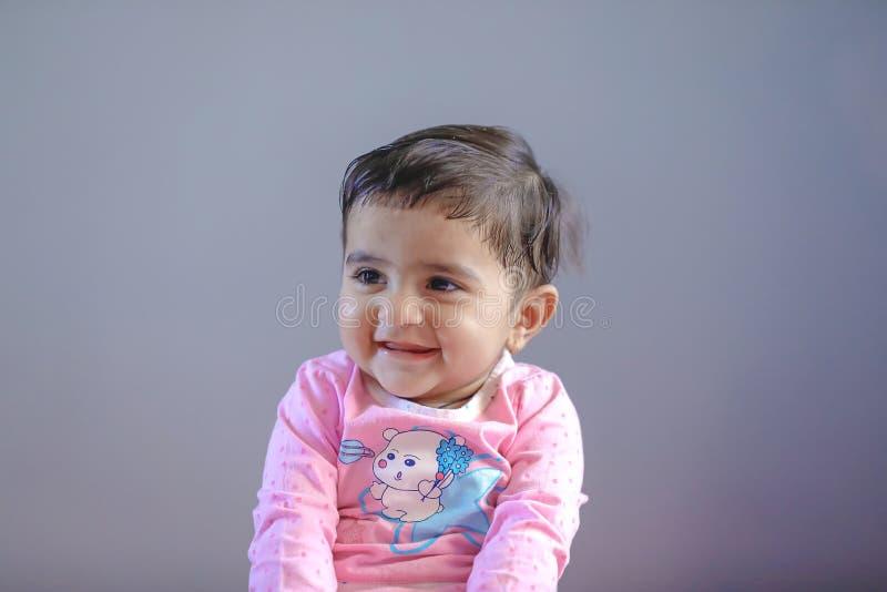 Leuk Indisch babymeisje stock afbeelding