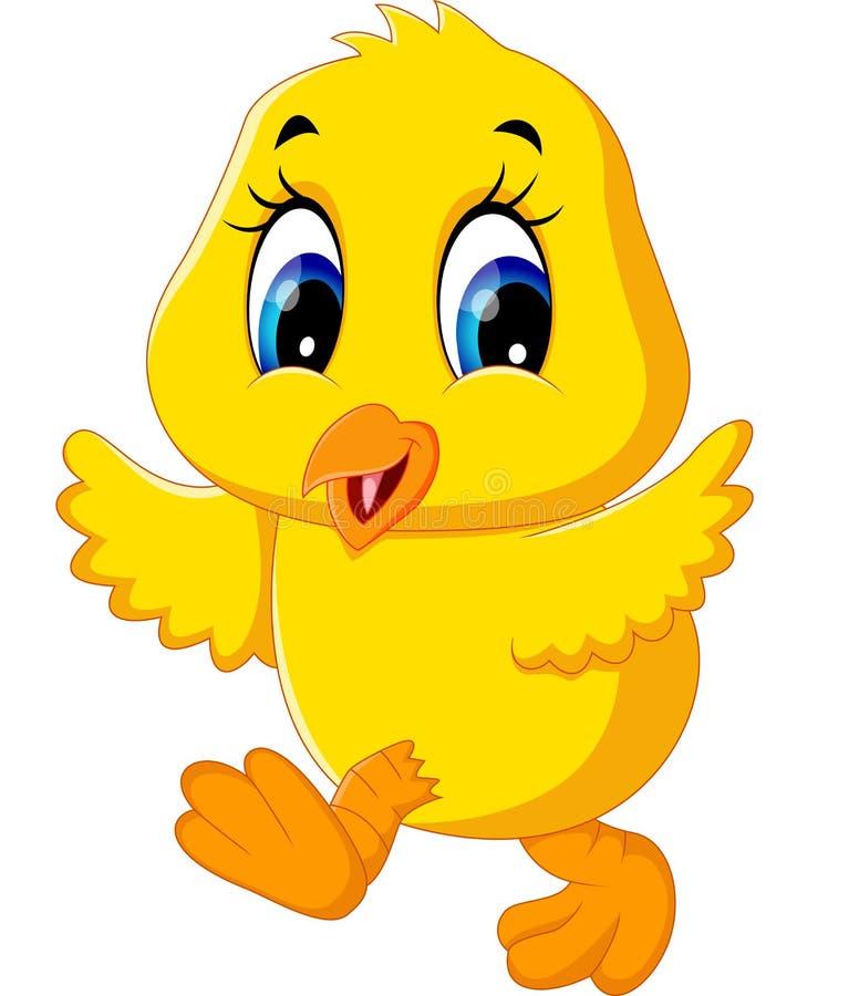 Leuk kippenbeeldverhaal royalty-vrije illustratie