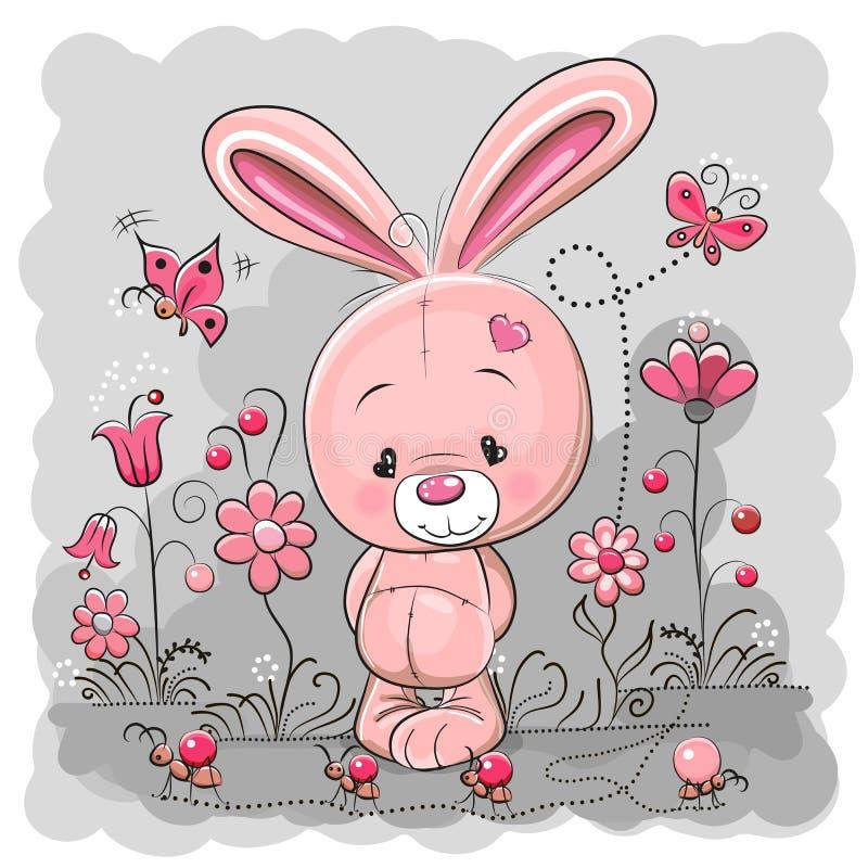 Leuk konijn royalty-vrije illustratie