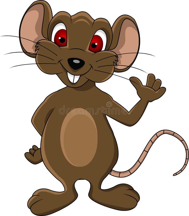 Leuk muisbeeldverhaal stock illustratie