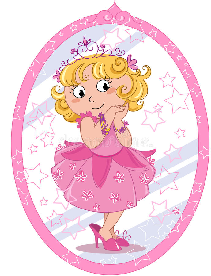 Leuk prinsesmeisje