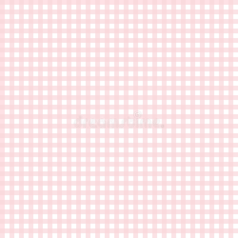 Leuk roze gingangpatroon vector illustratie