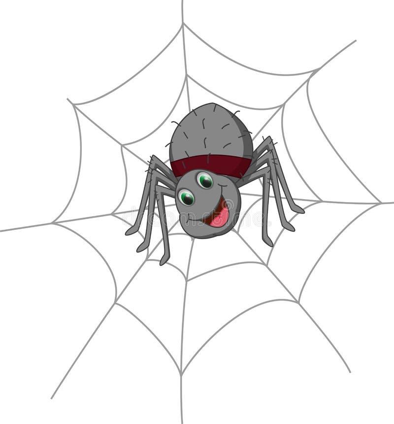 Leuk spinbeeldverhaal stock illustratie