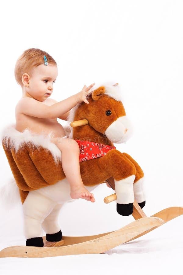 Leuk weinig kindbaby royalty-vrije stock foto's