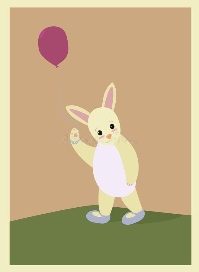 Leuk weinig konijn royalty-vrije stock afbeelding