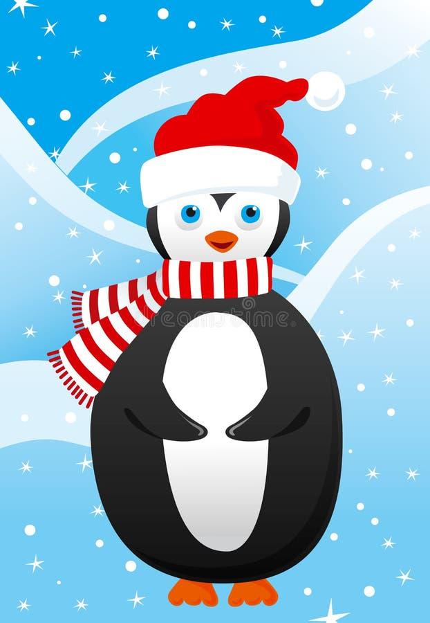 Leuk weinig pinguïn vector illustratie