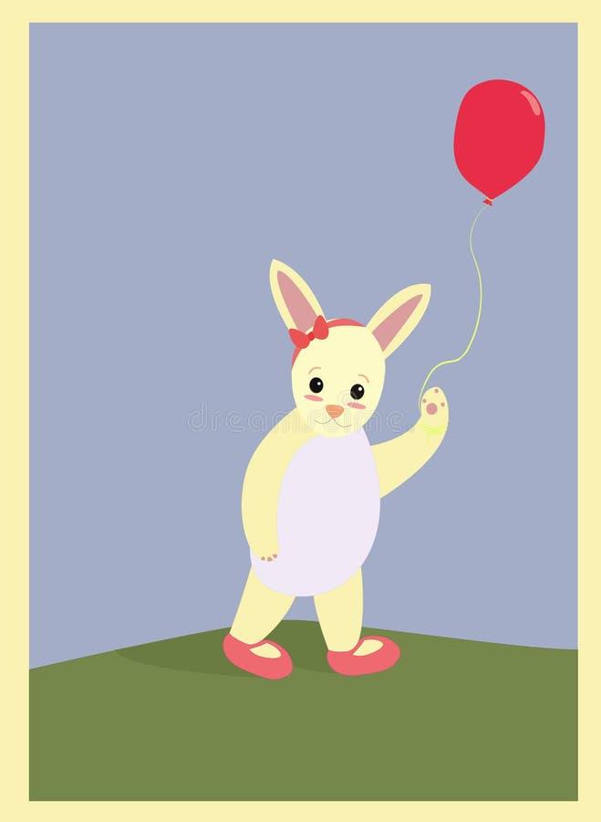 Leuk weinig rabbitΠroyalty-vrije stock foto's