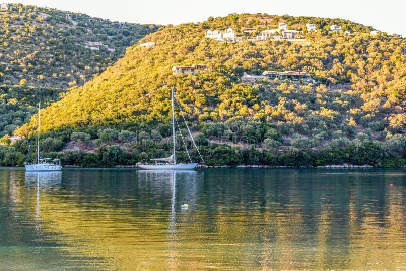 Leukada Grecia fotografie stock libere da diritti