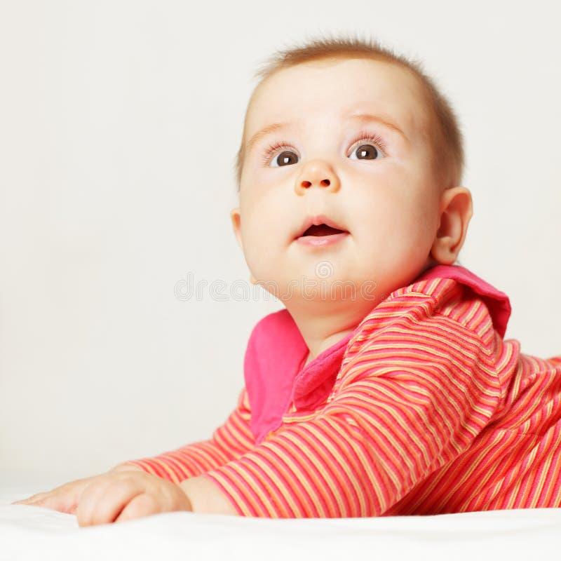 Leuke baby stock fotografie