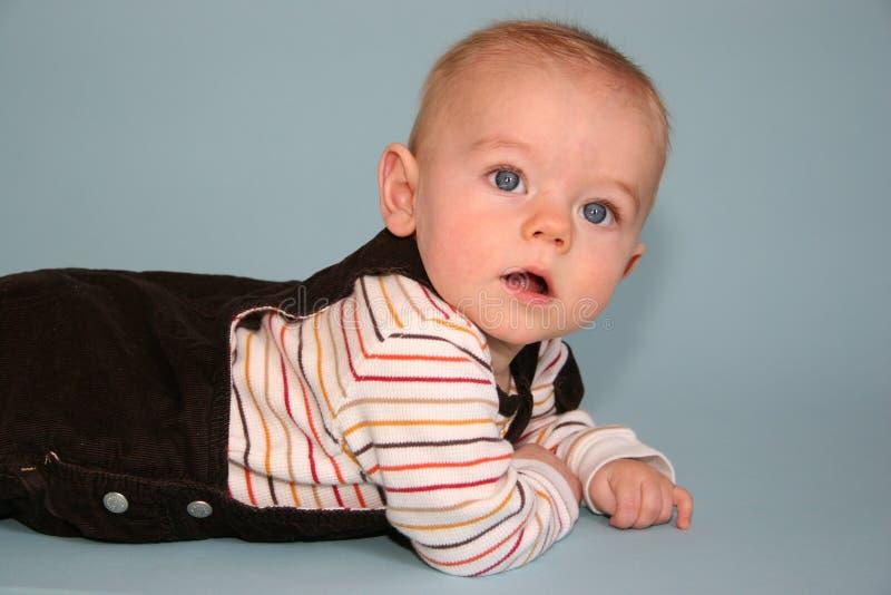 Leuke babyjongen royalty-vrije stock afbeeldingen
