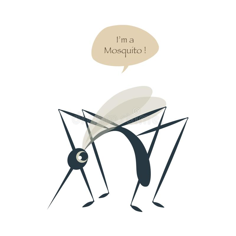 Leuke die mug op witte ballon wordt geïsoleerd als achtergrond en toespraak vector illustratie