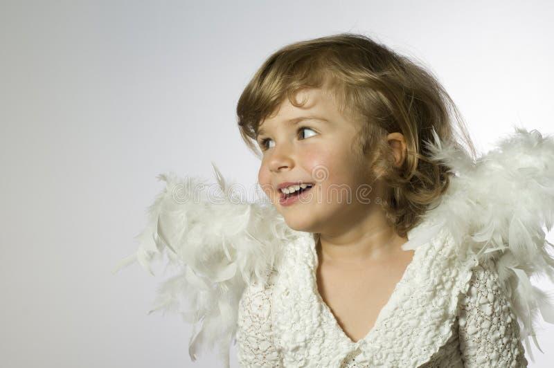 Leuke engel royalty-vrije stock fotografie