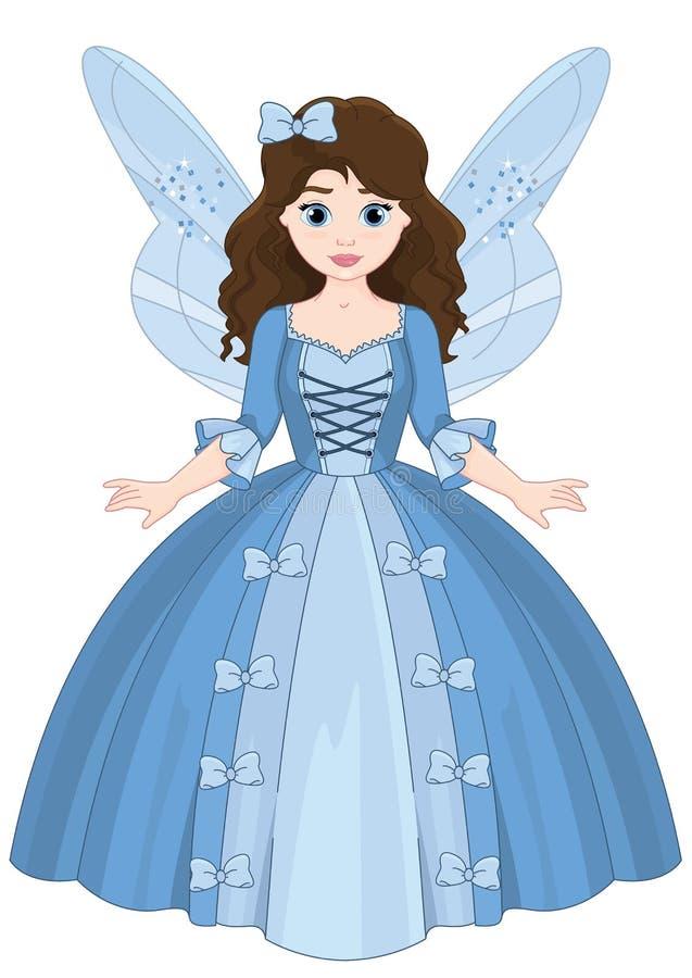 Leuke Fairytale Weinig Magisch Meisje royalty-vrije illustratie