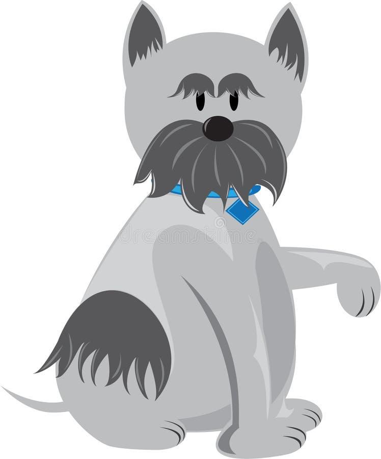 Download Leuke Hond stock illustratie. Illustratie bestaande uit obedient - 10783767