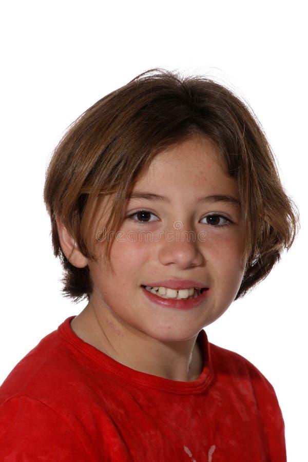 Leuke jonge tiener royalty-vrije stock fotografie