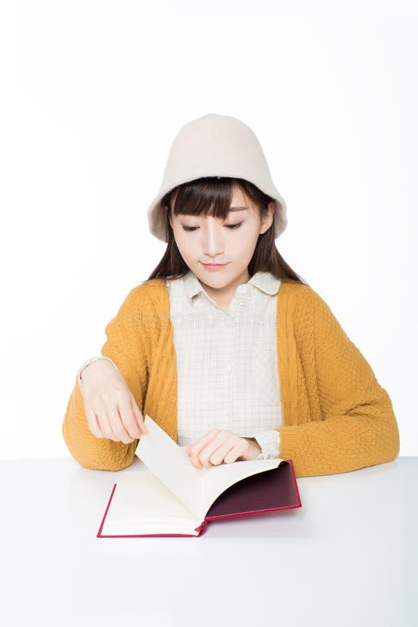 Leuke mooie Chinese studenten royalty-vrije stock fotografie