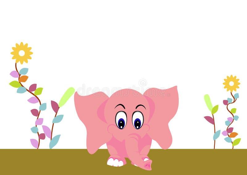 Download Leuke olifantsbaby vector illustratie. Illustratie bestaande uit art - 29502887