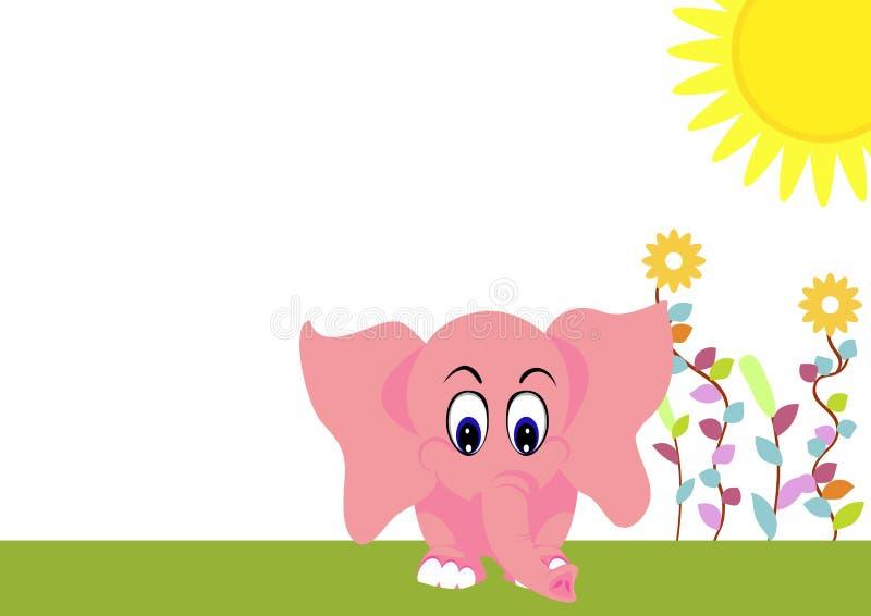 Download Leuke olifantsbaby vector illustratie. Illustratie bestaande uit duurzaamheid - 29503871