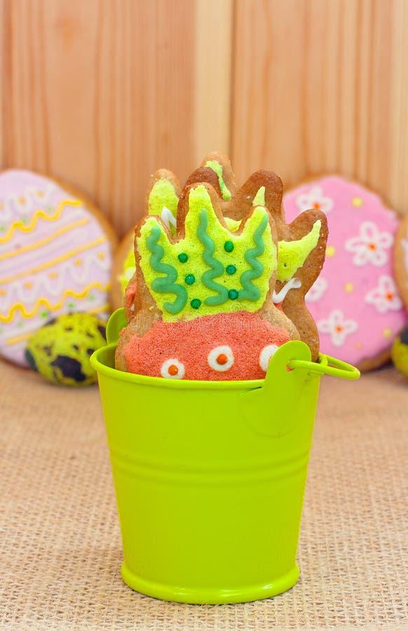 Leuke Pasen-koekjes stock fotografie