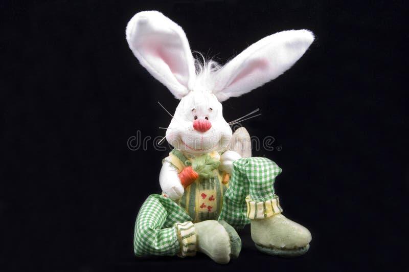Leuke Pasen konijntjeszitting stock fotografie