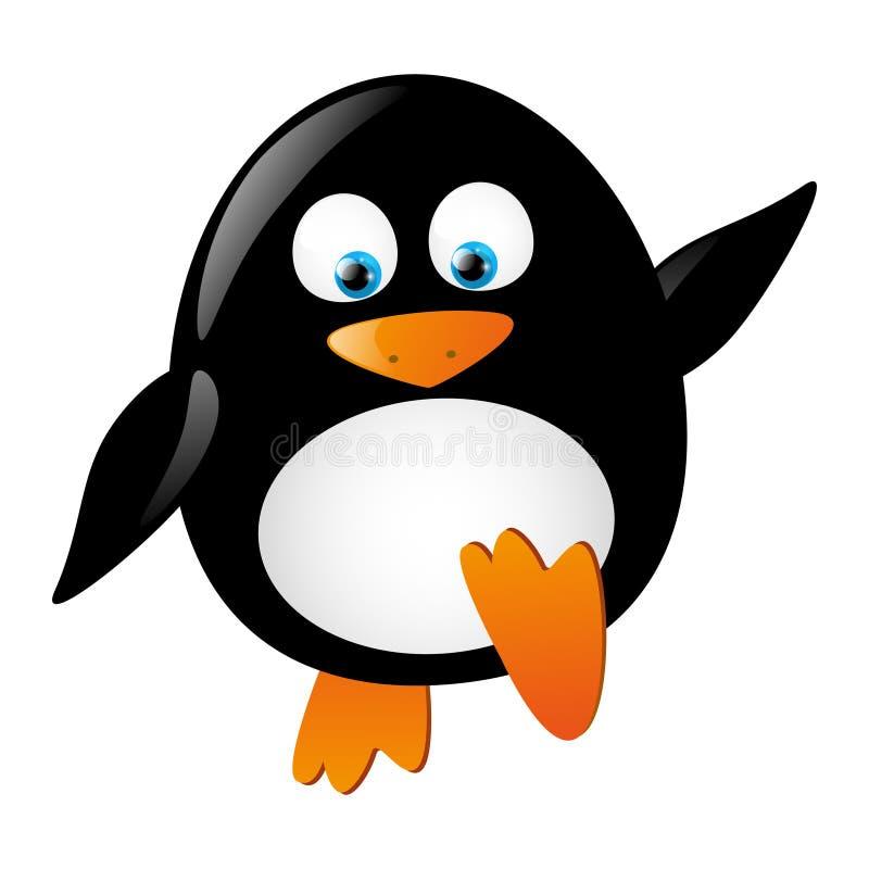 Leuke pinguïn royalty-vrije illustratie