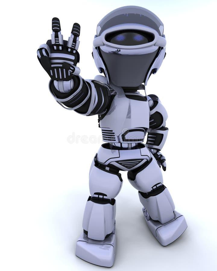Leuke robot cyborg