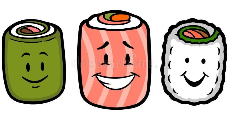 Leuke Sushi royalty-vrije stock fotografie