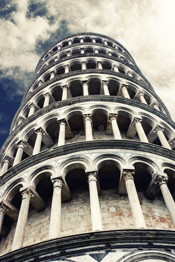 Leunende toren van Pisa royalty-vrije stock afbeelding